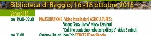 "AgriCultures ""semi di resistenza""."